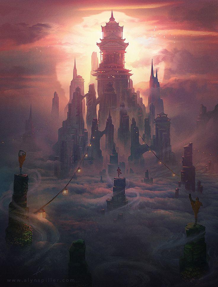 Sky Temple by Alyn Spiller