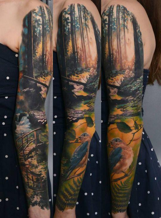 best 25 nature tattoo sleeve ideas on pinterest forest tattoo sleeve tree sleeve and tree. Black Bedroom Furniture Sets. Home Design Ideas