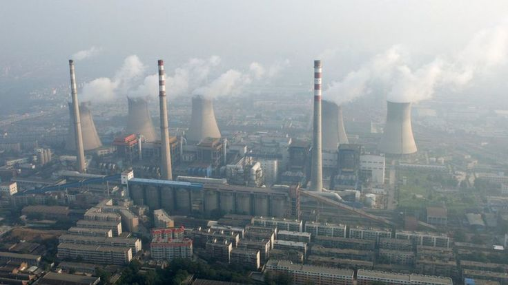 The US and China - together responsible for 40% of the world's carbon emissions…