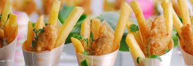 Fish and Chip Cones