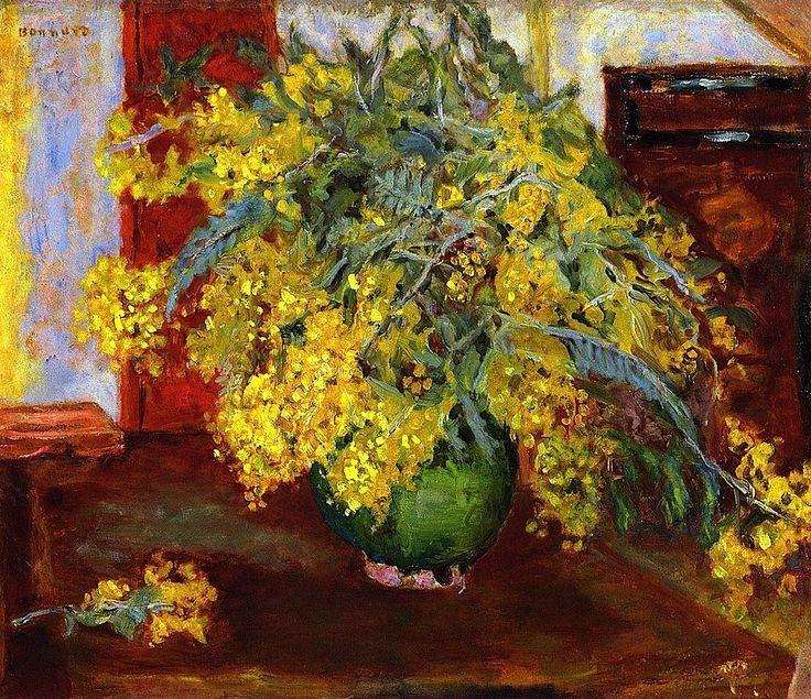 Mimosa, 1915 | Pierre Bonnard