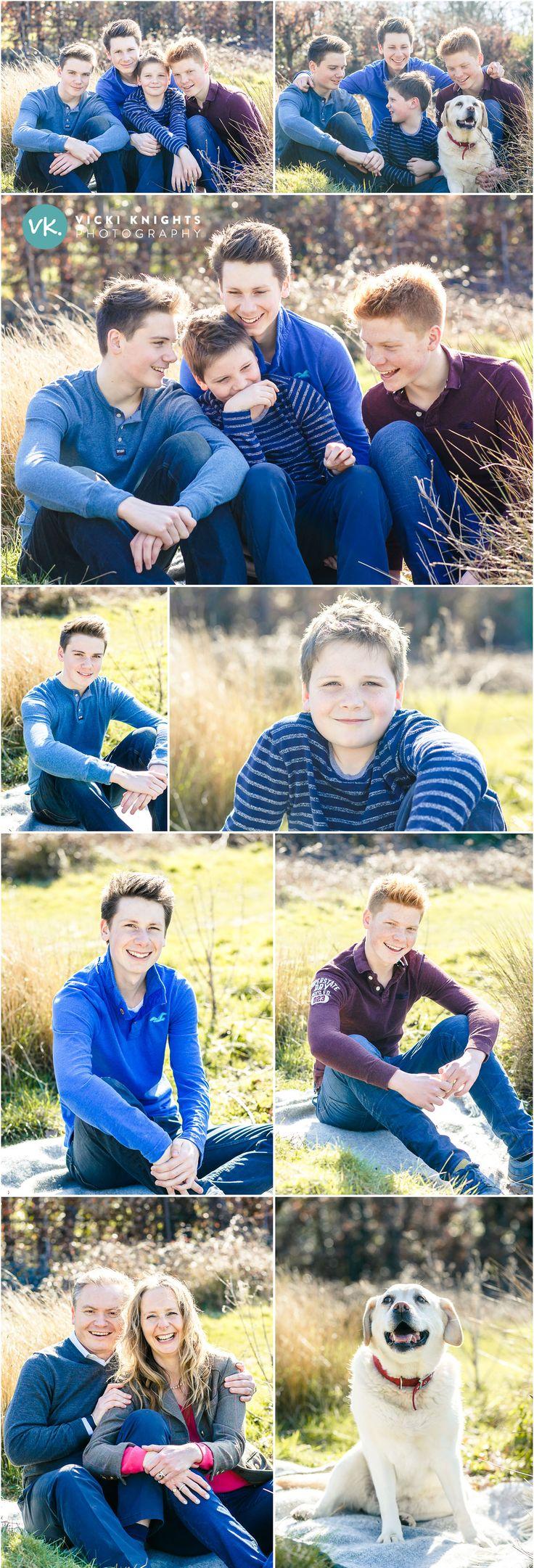 Teenage family photo shoot | Vicki Knights Photography