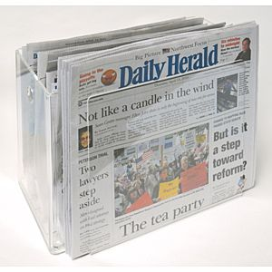 Demco.com -  mag|box™ Newspaper Periodical Storage