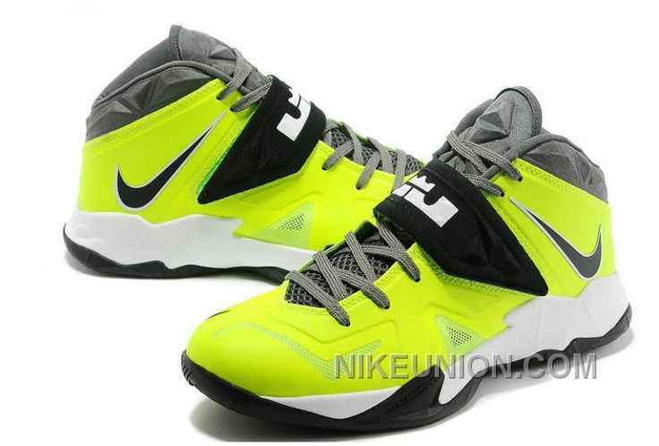 http://www.nikeunion.com/shop-nike-lebron-soldier-7-volt-grey-black-white-super-deals.html SHOP NIKE LEBRON SOLDIER 7 VOLT GREY BLACK WHITE SUPER DEALS Only $67.36 , Free Shipping!