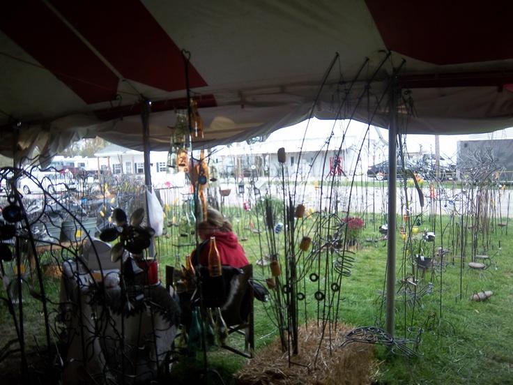2012 Parke County Covered Bridge Festival in Bridgeton, Indiana.
