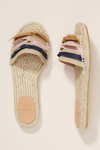 581de813082 Castaner Bow Espadrille Slides | It's all about the SHOES! in 2019 ...