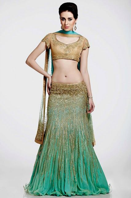 Satya Paul Designer Bridal Collection 2013-14 | Indian Designer Bridal Lehenga | Satya Paul Lehenga and Saree