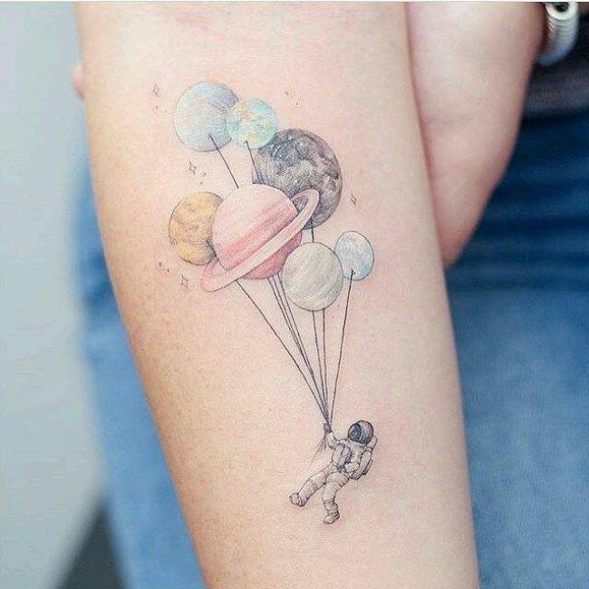 Solar System Tattoo_