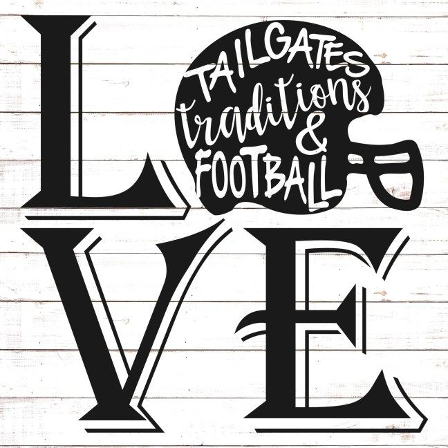 Download Football Love   Free svg, Svg free files, Svg