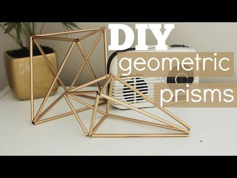 DIY himmelis/geometric decor for under $10