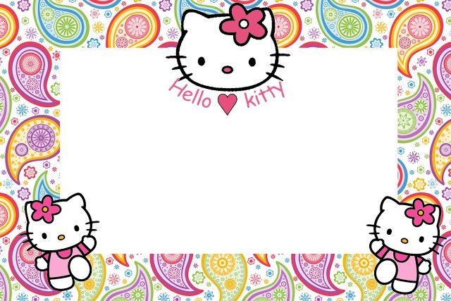Hello Kitty -free printables