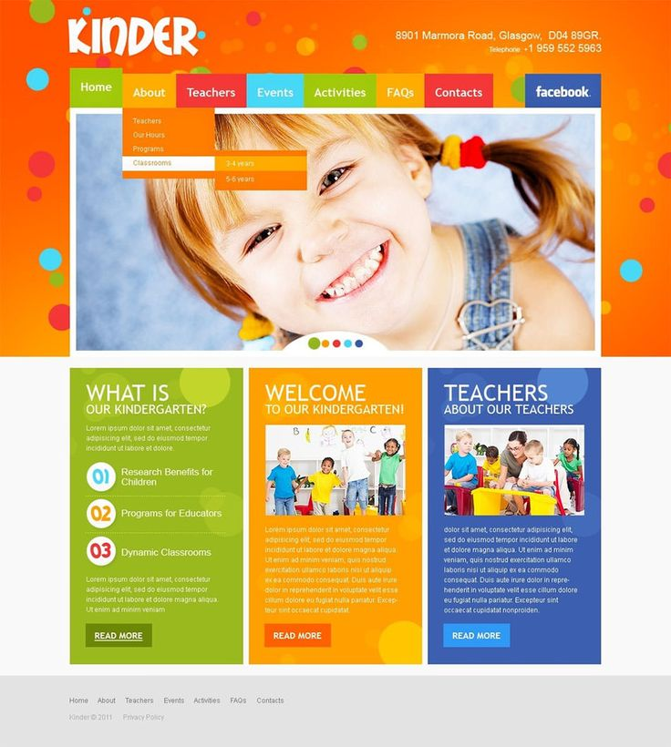 Best Professional Educational Psd School Flyer Templates Images