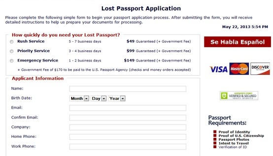 US passport renewal form visit here!