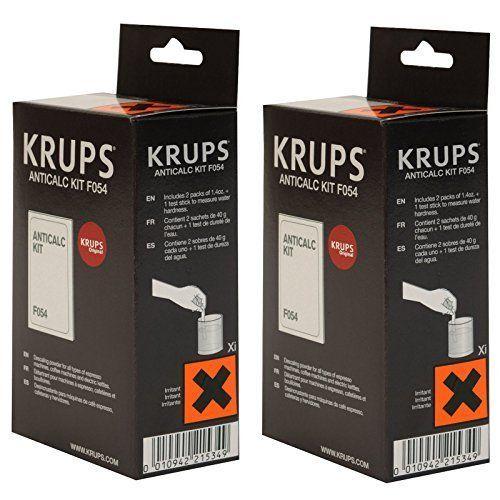 Krups Coffee Espresso Machine Anti Calc Powder Descaler F054001B