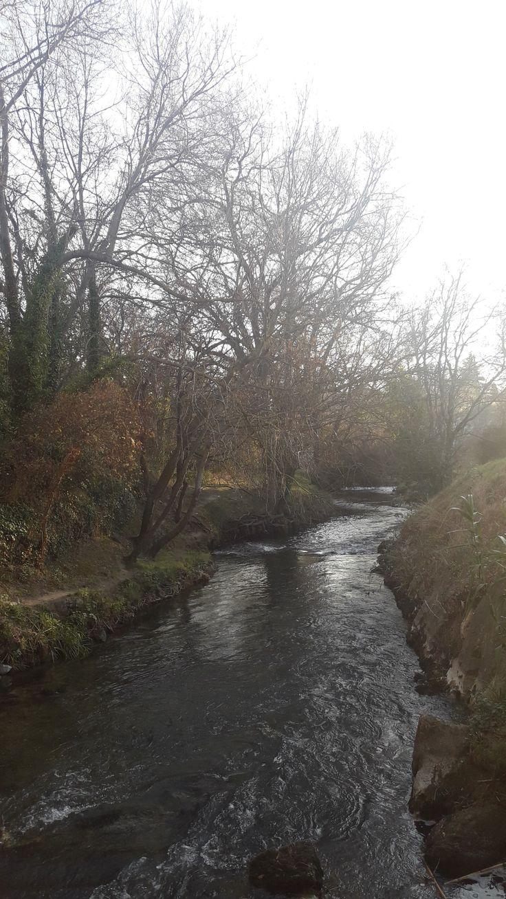 Au milieu coule une rivière .  .  . La Touloubre  @ICphotos