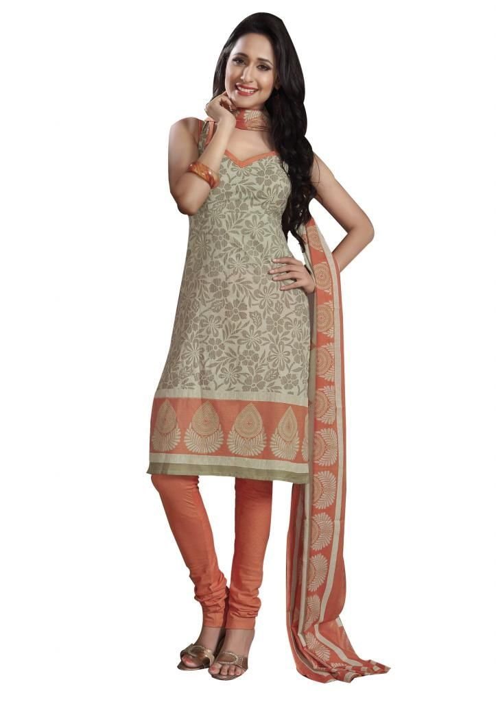 Daily Wear Cotton Dress Materials from #Ethnic Queen.  Free Shipping* Cash on Delivery*Easy returns!!  Shop here: http://www.ethnicqueen.com/product/ob-special-25/