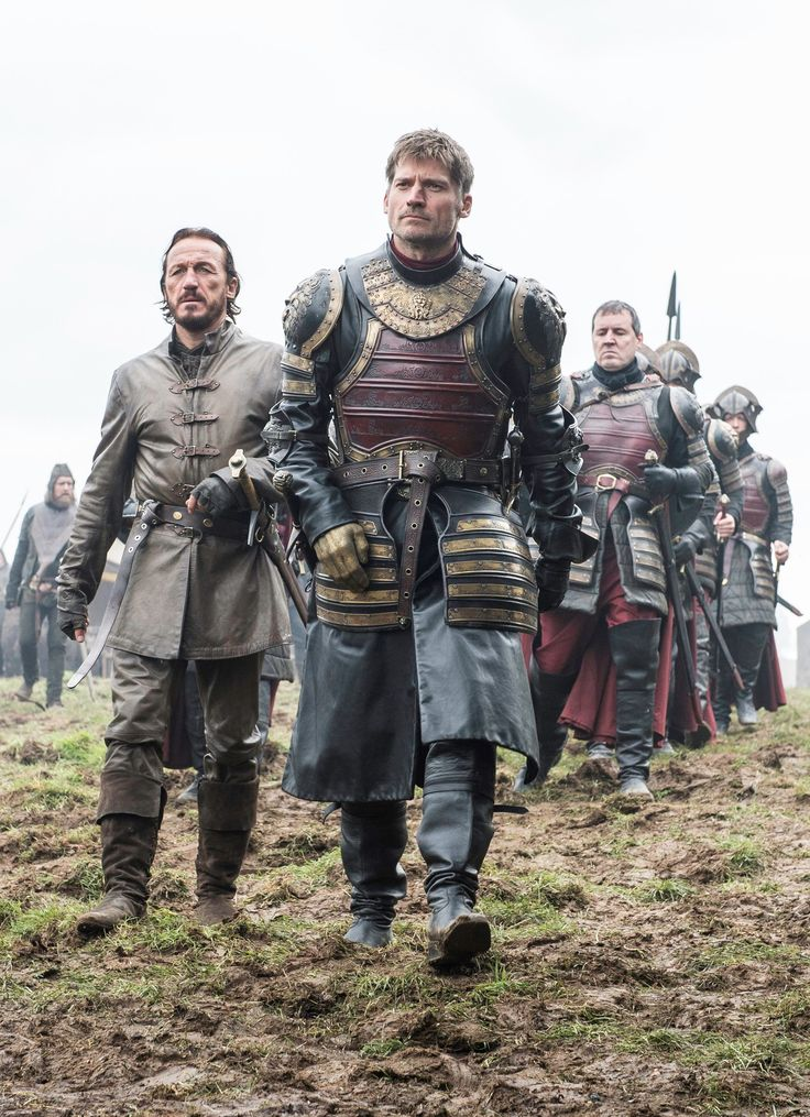 "6.07 ""The Broken Man"" – Jaime, Bronn, and the Lannister army arrive at Riverrun."