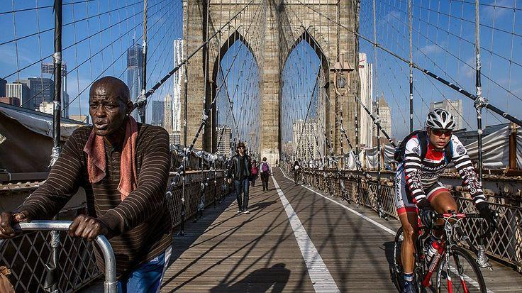Бруклинский мост. Нью-Йорк.