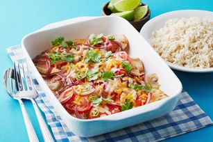 Baked Mexican Fish Recipe