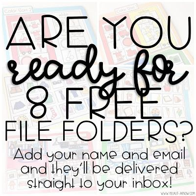 File Folder Freebies