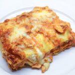 Lasagna met zalm, mozzarella en creme fraiche - Vertruffelijk