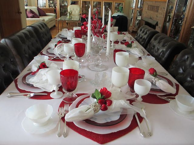 The Welcomed Guest: Valentine's Tablescape (No. 2)