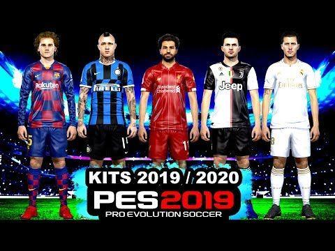 PES 2019 KITS 2019/2020 , PROFESSIONALS PATCH/SMOKE PATCH