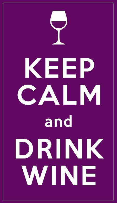 Keep Calm and... drink wine  #wine #winelover #chianti #tuscany #italy #love #keepcalm