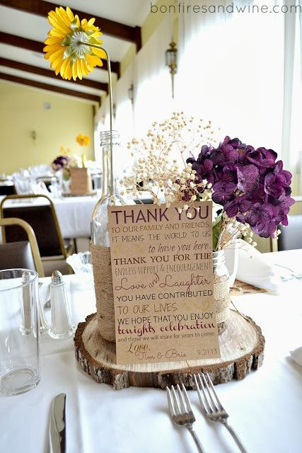 268 best wedding ideas images on pinterest church decorations burlap and lace wedding decorations we used more burlap and lace as a backdrop for junglespirit Gallery