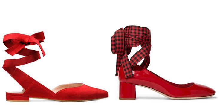 Le scarpe con i nastri sono il modello must have della primavera estate 2017  - ELLE.it