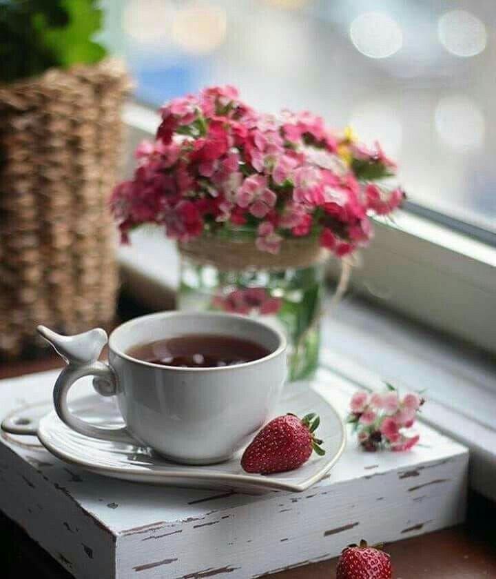 это фото утреннего кофе с цветами забронировать номера