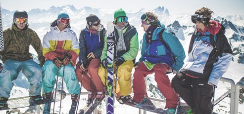 Are you ready for a short break skiing in April ? Bargains and good deals #ValThorens