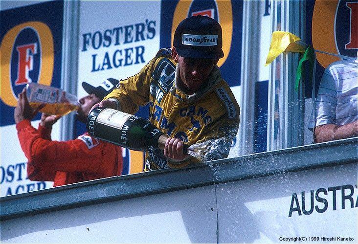 Ayrton Senna, Australia 1987