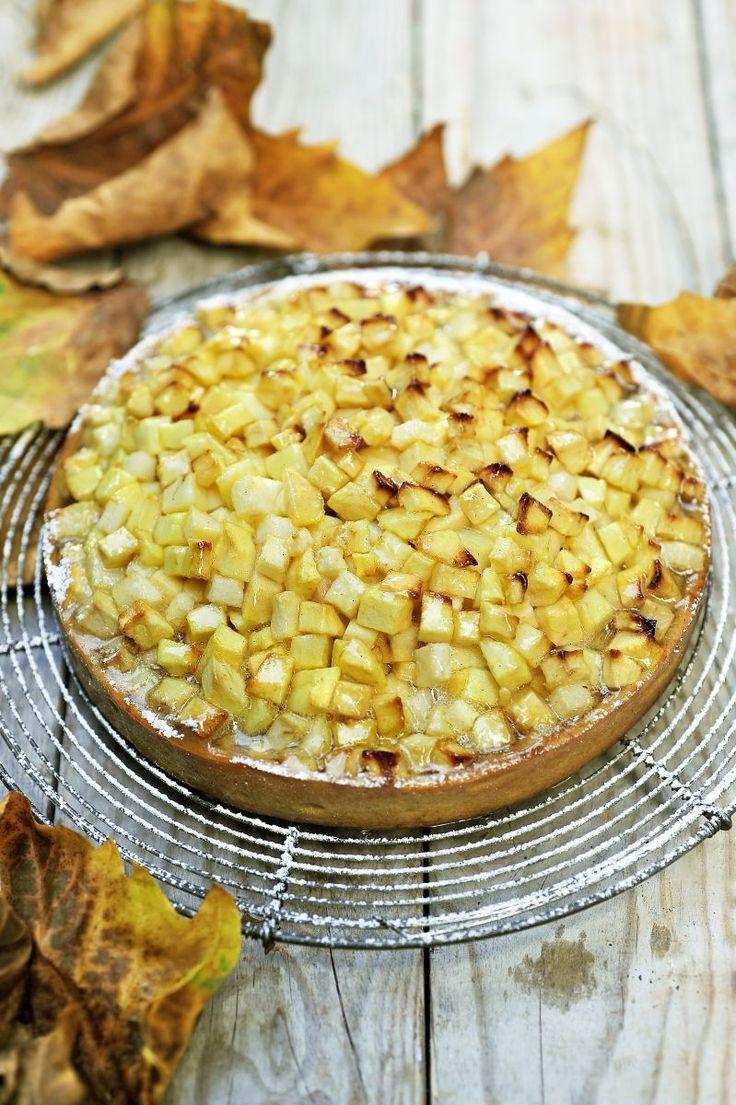 Oma's appel- en perentaart http://www.njam.tv/recepten/omas-appel-en-perentaart