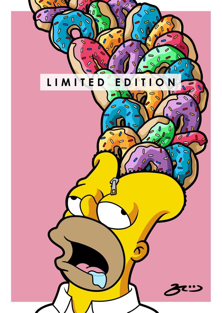 'Homer UNZIPPED'  BroosArt