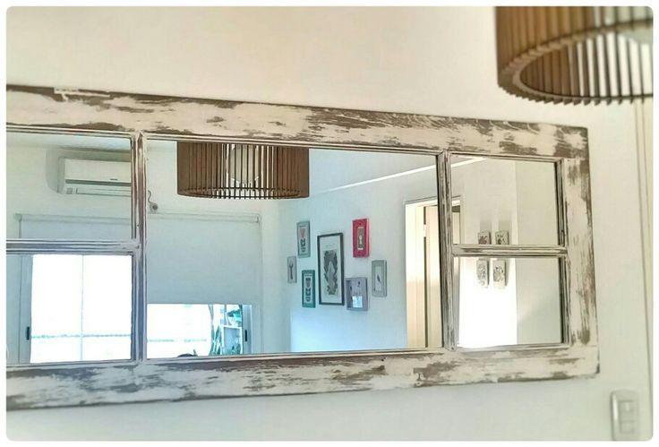 Resultado de imagen para ventanas de madera RECICLADAS