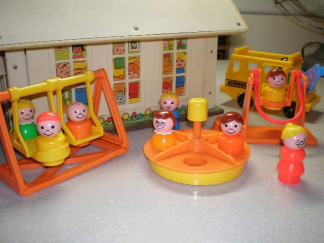 84 best little people from fisher price images on pinterest fisher price playground i spun the merry go round fast so the little people would fly off publicscrutiny Images