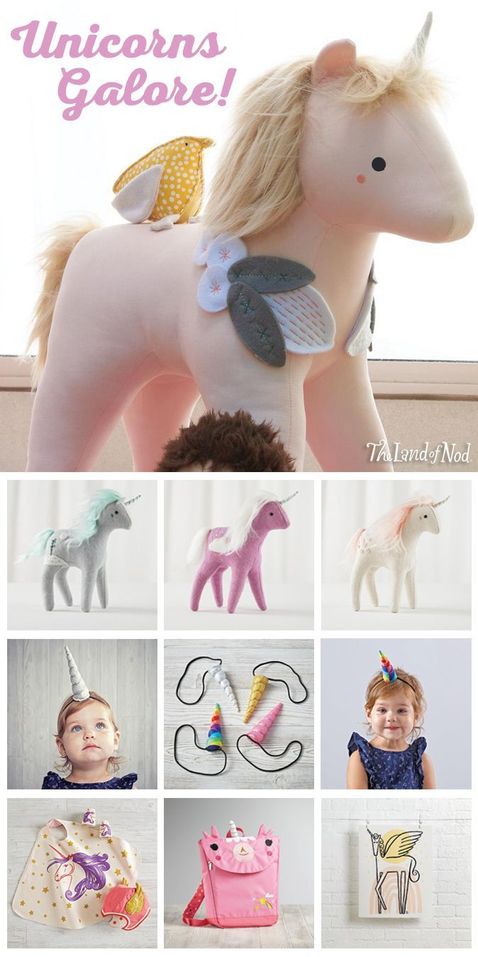 Glimpsing a unicorn in the wild is tough. But, thanks to The Land of Nod, finding the perfect gift for any fairytale-loving kid on your list will be a cinch. We've got unicorn bedding, wall art, toys, dolls, plus so much more. And, lucky you, we've rounded up this magical herd just in time for the holidays.