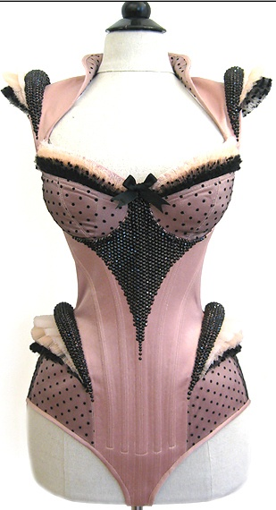 Royal Black Corsetry