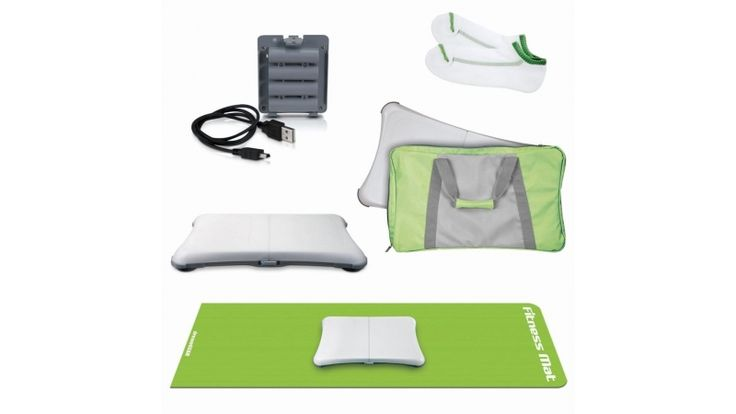 5 in 1 Bundle (Green) For Nintendo Wii Fit