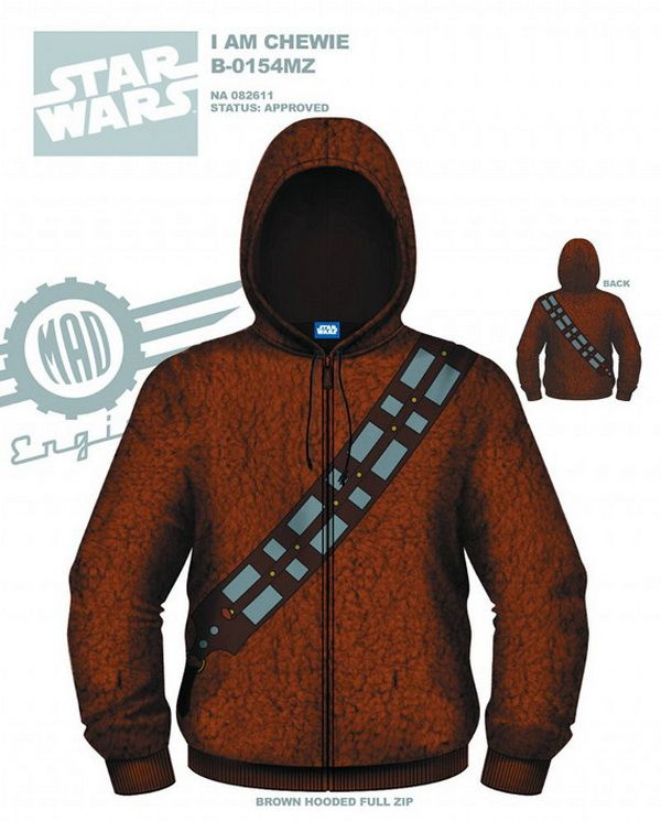 Best We Love Star Wars Images On Pinterest Drawings Dark - Hoodie will turn you into chewbacca from star wars