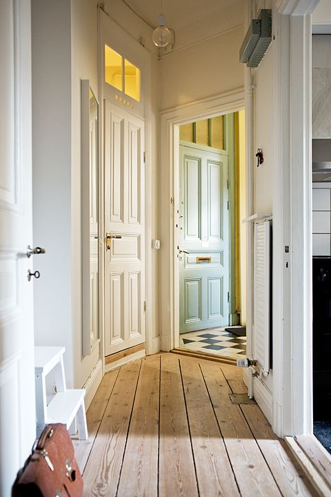Luxury Interior Hallway Doors