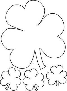 15 best stuff for work images on pinterest shamrock printable st patricks day clover patterns pronofoot35fo Gallery