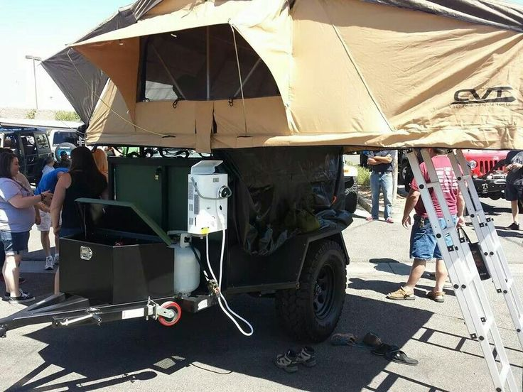 DH 2 Off Road Jeep Trailer & 44 best Dog House Off Road Trailers images on Pinterest   Dog ...
