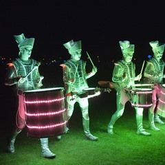 Illuminated Drummers Spark dazzle at Lakes Alive Festival 2017