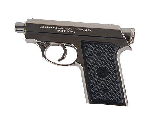 Pepper Gun Spray V3 0 Turbo Compact Size Silver Luxury