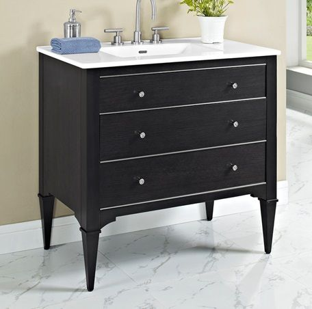 Photo Album Gallery Charlottesville Vanity Vintage Black Fairmont Designs Fairmont Designs