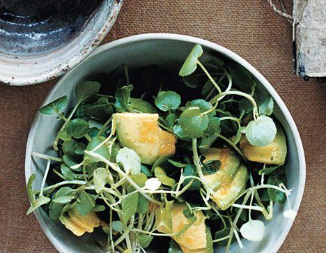 Avocado and Watercress Salad Recipe