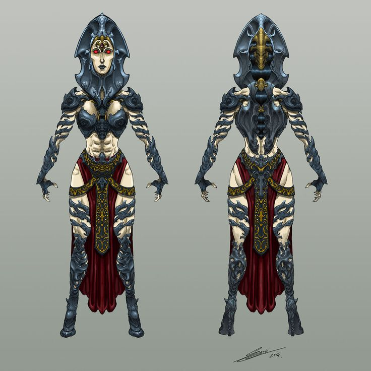 FANTASY AND ROL CHARACTER DESIGN . (CHARACTER DESIGN) on Behance