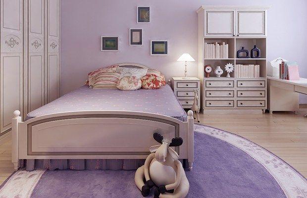 Quais cores são mais indicadas para pintar o quarto? Esses tons suaves ajudam a transmitir sensações de relaxamento e garantem boa noite de sono.